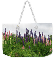 Lupin Panorama Weekender Tote Bag by Martin Howard