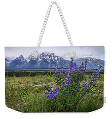 Lupine Beauty Weekender Tote Bag by Chad Dutson