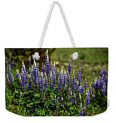 Lupine In Montana 2 Weekender Tote Bag