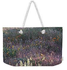Lupine Weekender Tote Bag by Laurie Stewart