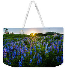 Lupine Meadow Weekender Tote Bag