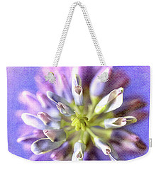 Lupine Hearts Unfurled Shabby Chic Weekender Tote Bag