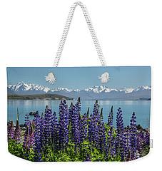 Lupines At Lake Tekapo Weekender Tote Bag