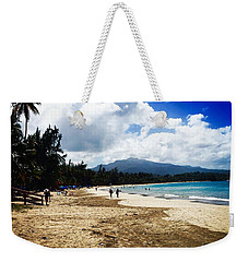Luquillo Beach, Puerto Rico Weekender Tote Bag by The Art of Alice Terrill