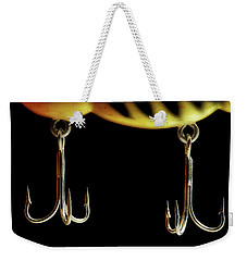Weekender Tote Bag featuring the photograph Lure by Mike Eingle