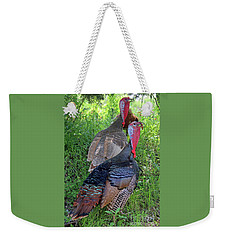 Lurking Turkeys Weekender Tote Bag by Joe Jake Pratt