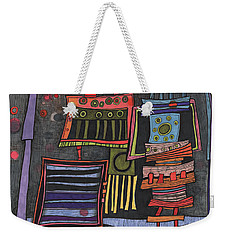 Lurking Under The Bed Weekender Tote Bag by Sandra Church
