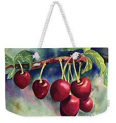 Luscious Cherries Weekender Tote Bag