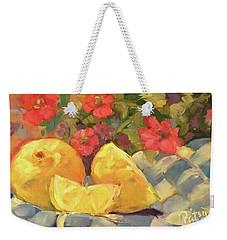 Luscious Lemons Weekender Tote Bag