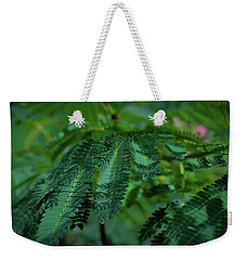 Lush Foliage Weekender Tote Bag by Stefanie Silva