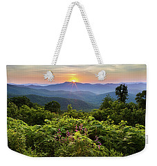 Lush Sunset In June Weekender Tote Bag
