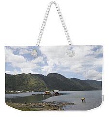 Lut Tawar Lake Weekender Tote Bag