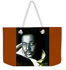Luther Vandross - Singer  Weekender Tote Bag