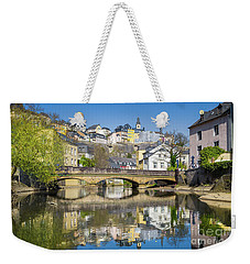 Luxembourg City Weekender Tote Bag by JR Photography