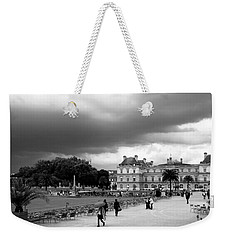 Luxembourg Gardens 2bw Weekender Tote Bag