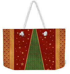 Luxurious Christmas Card Weekender Tote Bag