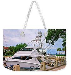 Luxury Fishing Weekender Tote Bag