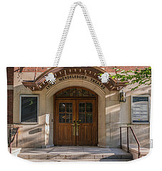 Lydia Mendelsson Theatre  Weekender Tote Bag by Pravin Sitaraman