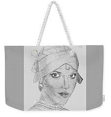Lynn As Josephine Weekender Tote Bag