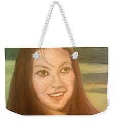 Lynne Frederick  Weekender Tote Bag