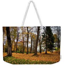 Lysaker Woods Weekender Tote Bag