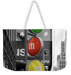 M And Ms In New York City Weekender Tote Bag