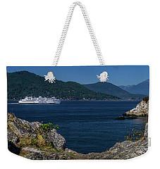 M/v Queen Of Cowichan Weekender Tote Bag