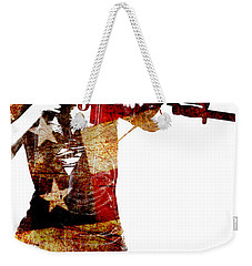 M1 Carbine And Bayonet Weekender Tote Bag