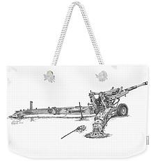 M198 Howitzer - Standard Size Prints Weekender Tote Bag