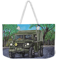 M37 Truck 3bam Weekender Tote Bag by Reb Frost