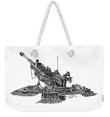 M777a1 Howitzer Weekender Tote Bag