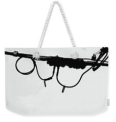 Weekender Tote Bag featuring the photograph Ma Bell by Joe Jake Pratt
