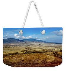 Maasai Village, Tanzania Weekender Tote Bag