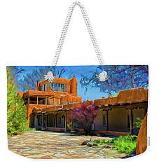 Mabel's Courtyard As Oil Weekender Tote Bag