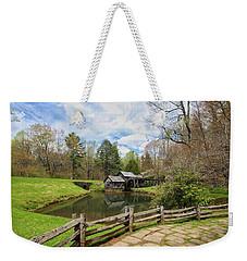 Mabry Mill In The Spring Weekender Tote Bag
