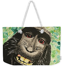 Macaque Monkey Weekender Tote Bag