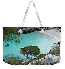 Macarelleta Turquoise Jewell By Pedro Cardona Weekender Tote Bag