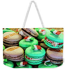 Macaroons Weekender Tote Bag by Shirley Mangini