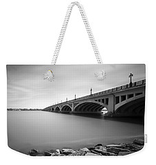 Macarthur Bridge To Belle Isle Detroit Michigan Weekender Tote Bag