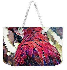 Macaw Weekender Tote Bag