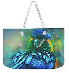 Macaw Magic Weekender Tote Bag