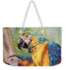 Macaws In The Sunshine Weekender Tote Bag