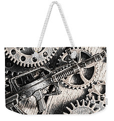 Machines Of Military Precision  Weekender Tote Bag by Jorgo Photography - Wall Art Gallery