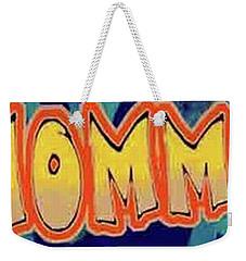 Macho Mommy Logo Weekender Tote Bag