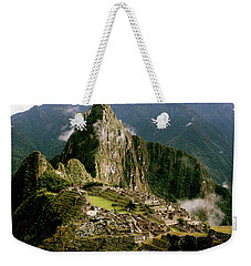 Machu Picchu At Sunrise Weekender Tote Bag