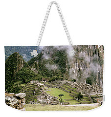 Machu Picchu In The Morning Light Weekender Tote Bag
