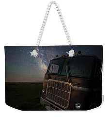 Weekender Tote Bag featuring the photograph Mack by Aaron J Groen