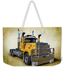 Mack Truck Weekender Tote Bag by Keith Hawley