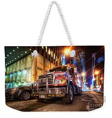 Mack Truck Nyc Weekender Tote Bag