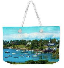 Mackerel Cove On Bailey Island Weekender Tote Bag
